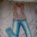 Jeansowe Pull and bear
