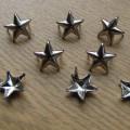 Ćwieki gwiazdki gwiazdy srebrne napy