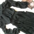 nowa czarna sukienka szyfonowa 39zł