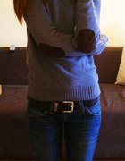 Sweter łaty