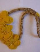 Autorski Naszyjnik Nature Style Yellow Floral