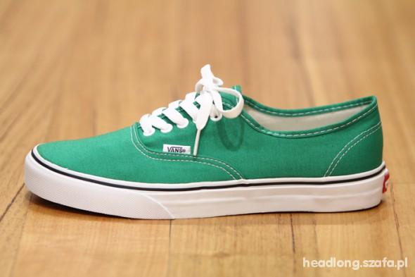 vans zielone