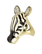 pierścionek zebra river island...