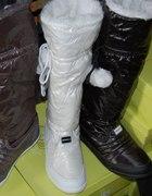 śniegowce białe popielate i czarne