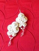 Kolczyki sutasz perłowe śliczne...