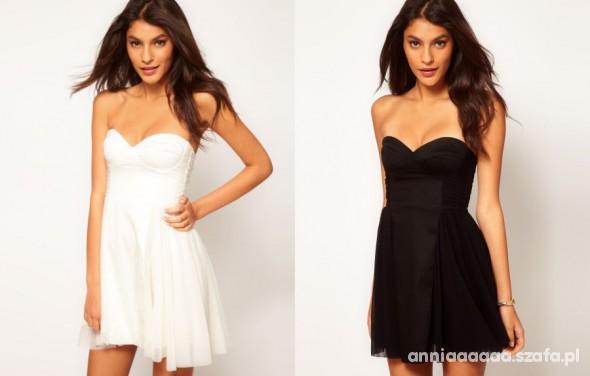 Suknie i sukienki Sukienka Asos 4 kolory gorsetowa tiul