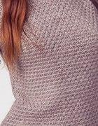 popielaty sweter bershka