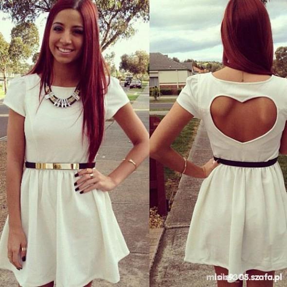Romantyczne Sukienka serce