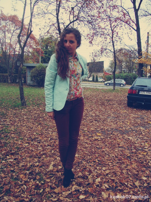 Mój styl Stylizacja jesienna