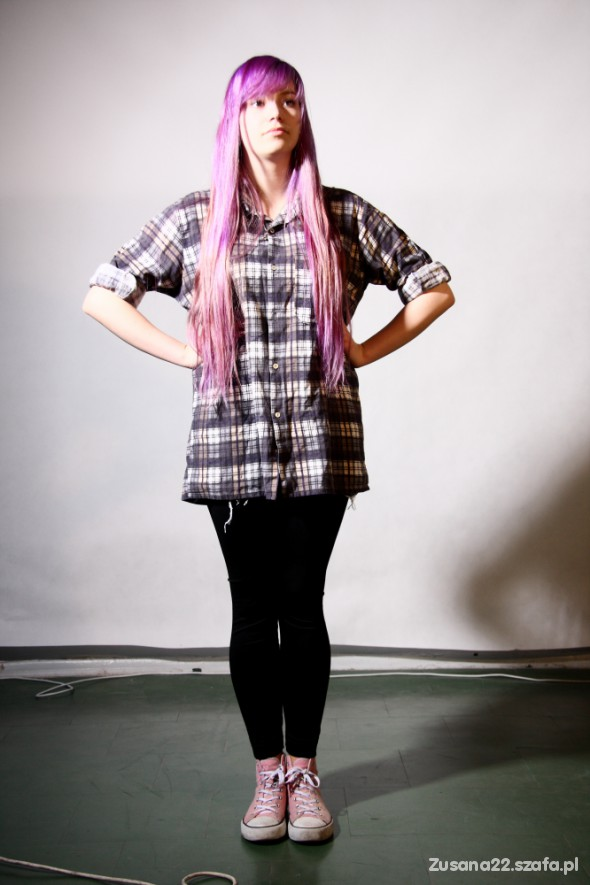 Mój styl Flanelowa koszula