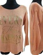 ażurowy sweterek bluzka