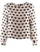 mgiełka koszula serca hm zip