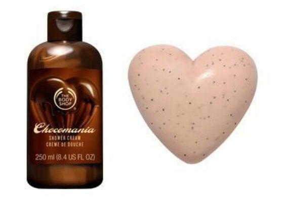 The Body Shop żel i mydełko czekoladowe