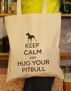 malowana torba keep calm DIY