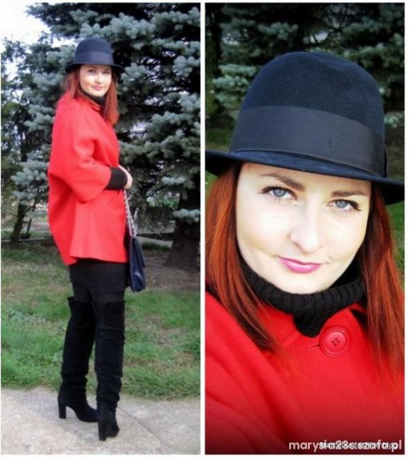 Mój styl czerwony kapturek