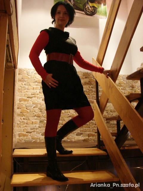 Mój styl Czarno czerwono II