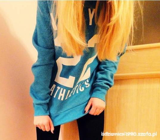 bluza new look niebieska...