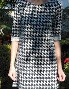 Sukienka pepitka H&M