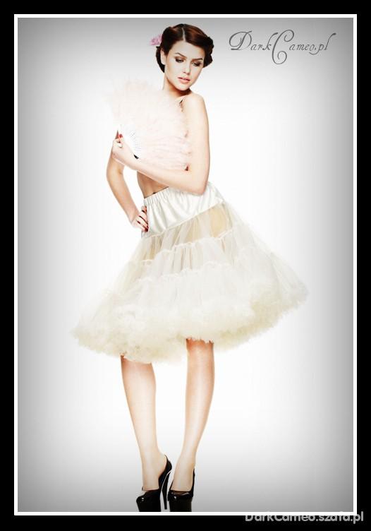 Spódnice Halka Petticoat NUDE Retro hell bunny DarkCameo