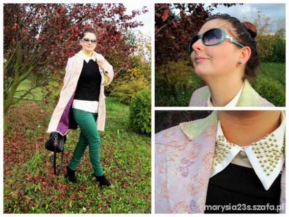 Mój styl fantazyjny płaszczyk by Marcelka Fashion