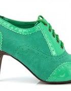nowe zielone botki oksfordy 39 OKAZJA