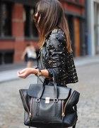 ramoneska skorzana torba