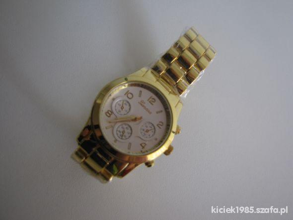 Złoty zegarek Geneva