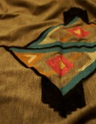 projekt wzoru na koszulke Aztec