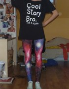 Galaxy i koszulka DIY Cool Story Bro tell it again