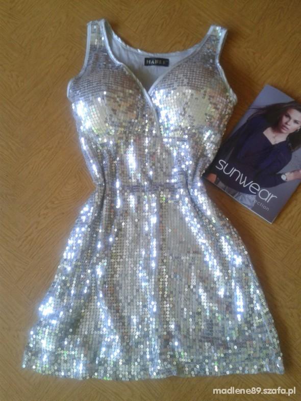 91959c178b50 Sylwester studniówka srebrna sukienka elita w Suknie i sukienki ...
