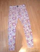 Topshop wzorzyste legginsy 38 40