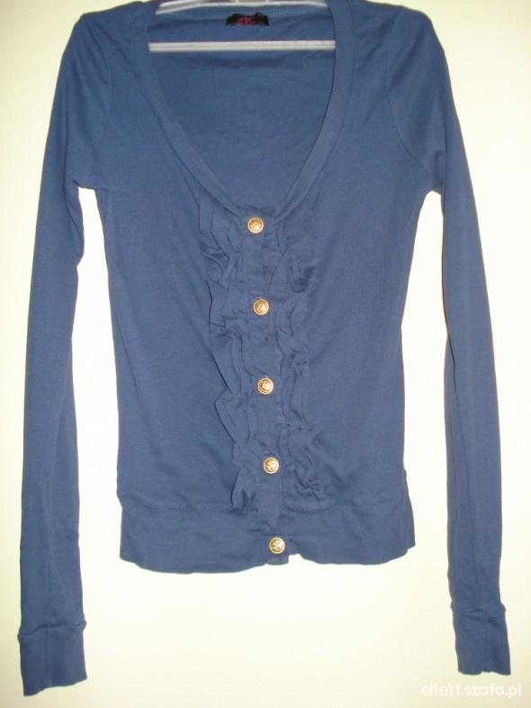 granatowa bluzeczka