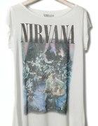 koszulka pull&bear nirvana...