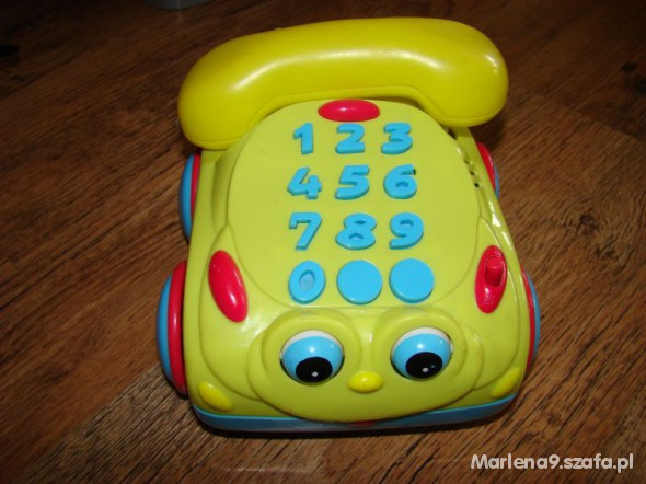 Zabawki Telefon edukacyjny jeździ