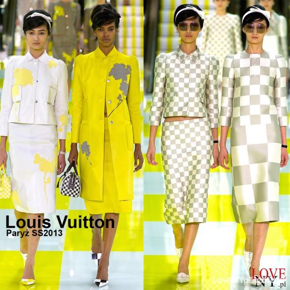 Na specjalne okazje Kreacje wielkich projektantów Louis Vuitton Miu
