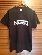 NERO ręcznie malowana koszulka hand made
