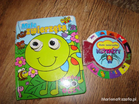 Zabawki Książeczki od 3 zł za parę