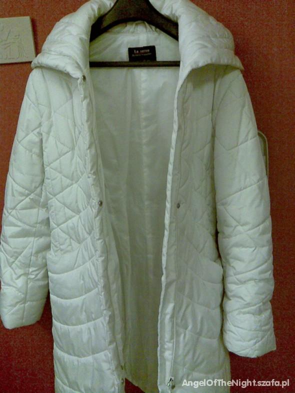 Odzież wierzchnia Płaszcz zimowy biały