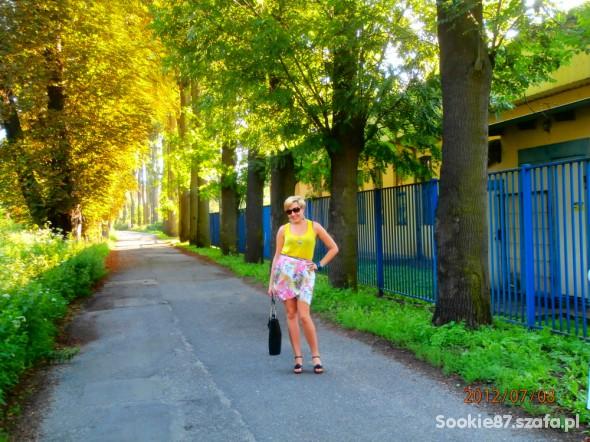 Romantyczne stylizacja z niedzielnego spaceru