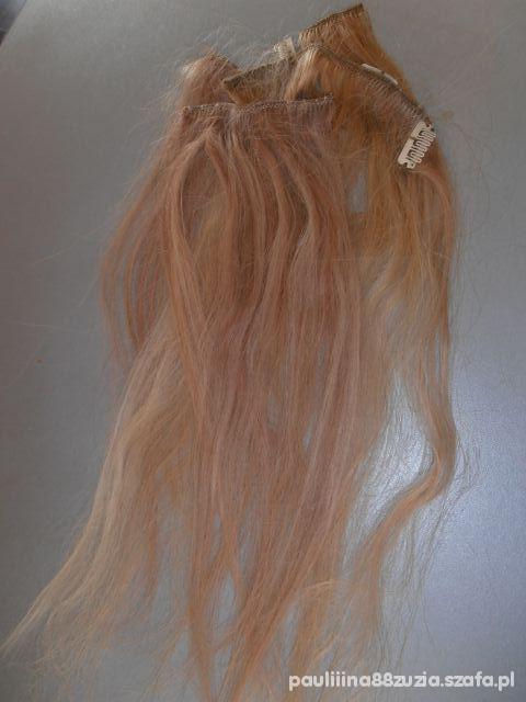 Pozostałe Clip IN blond NATURALNE