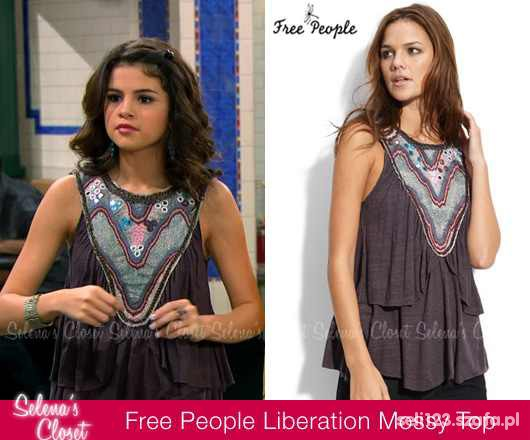 top Free People Liberation Miss Mossy...