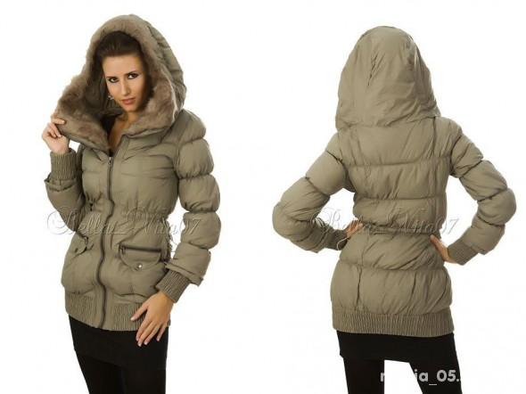 Zara basic kurtka płaszczyk pikowany NOWY w Odzież