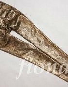 spodnie wężowe...