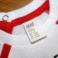 H&M KOSZULKA 4 6 M ENGLAND