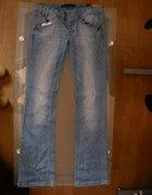 Spodnie Bershka roz 12 40 szwedy