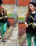StaffByMaff blouse & versace leggins & creepers