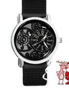 Zegarek czarny TANIO NOWY SILIKONOWY PASEK nowy