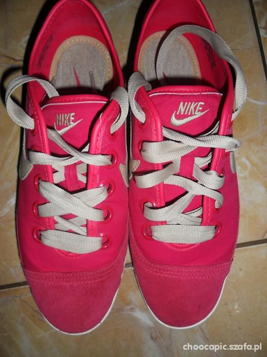 Nike różowe trampki w Trampki Szafa.pl