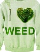 BLUZA I LOVE WEED