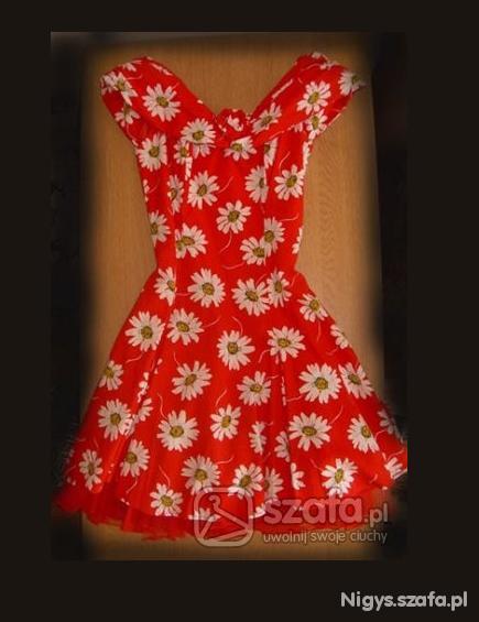 Ubrania Sukienka w kwiaty